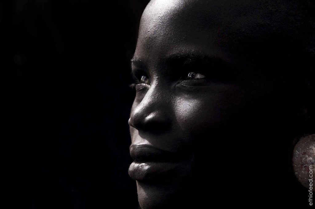 Ethiopia facts Hamar ethiopia black and white -