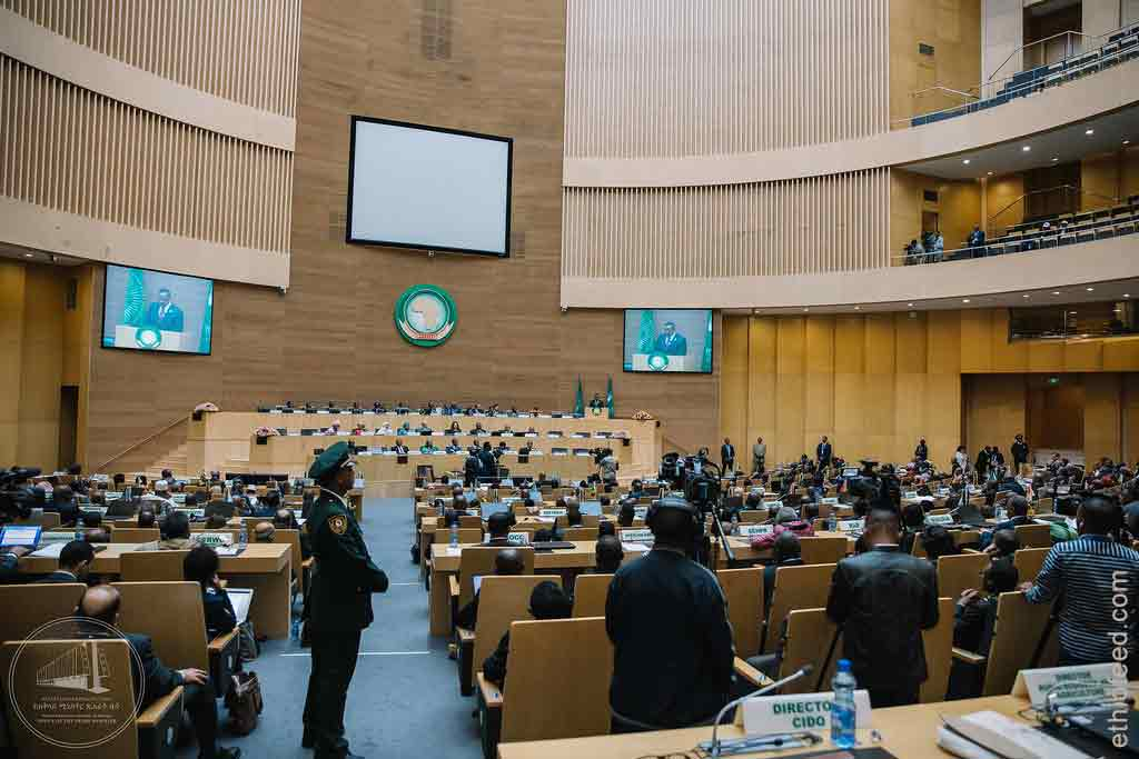 Ethiopian government AU meeting in addis ababa