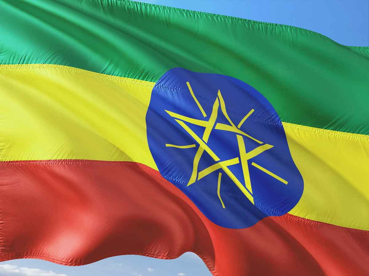 Ethiopia Flag: 13 Flags, 3 Colors, 1 People