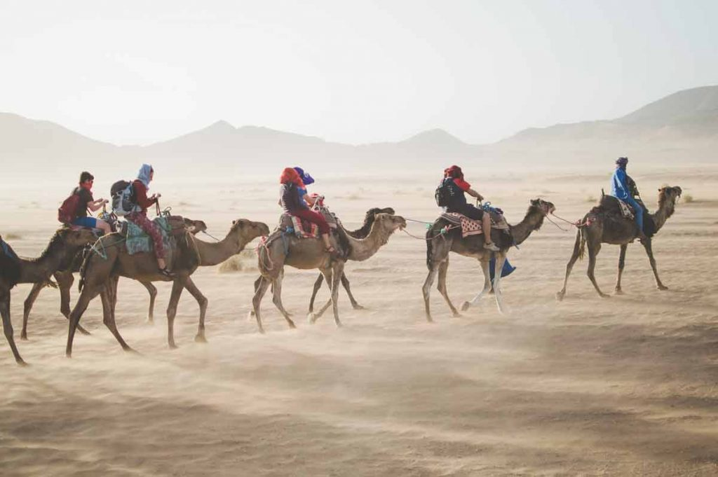 best places to visit in morocco_ sahara desert
