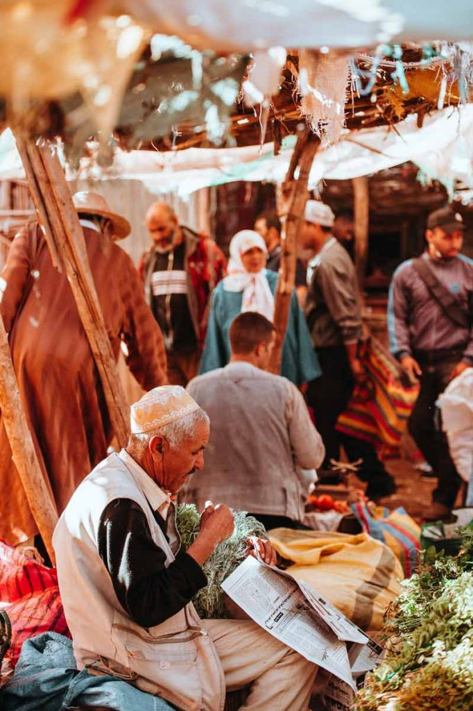 the country of morocco daily life