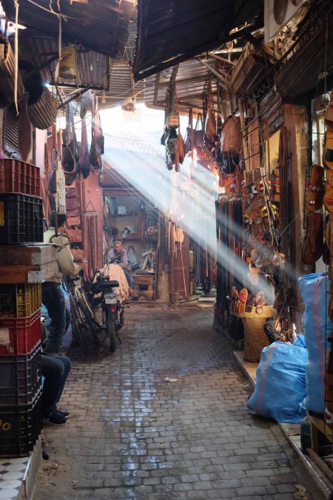 the country of morocco market