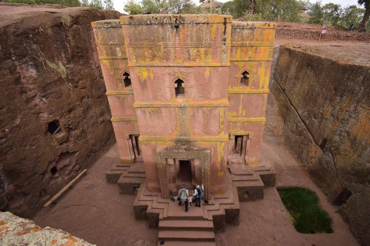 Underground Churches in Ethiopia (Rock Churches of Ethiopia)